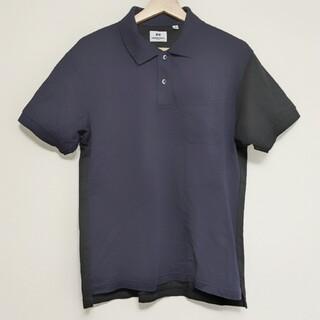 UNIQLO - 美品「ユニクロ ドライカノコカラーブロックポロシャツ」M(エンジニアドガーメンツ