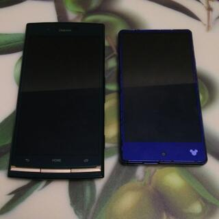 ANDROID - スマートフォン 2台セット (ジャンク)
