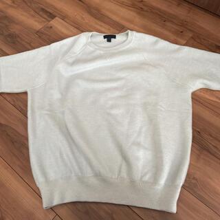 バーバリー(BURBERRY)のバーバリー アイスブルー 半袖スウェット風(Tシャツ(半袖/袖なし))