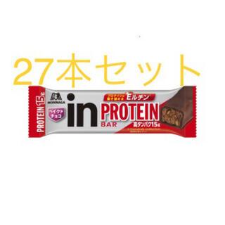 モリナガセイカ(森永製菓)のinバー 27本セット(プロテイン)