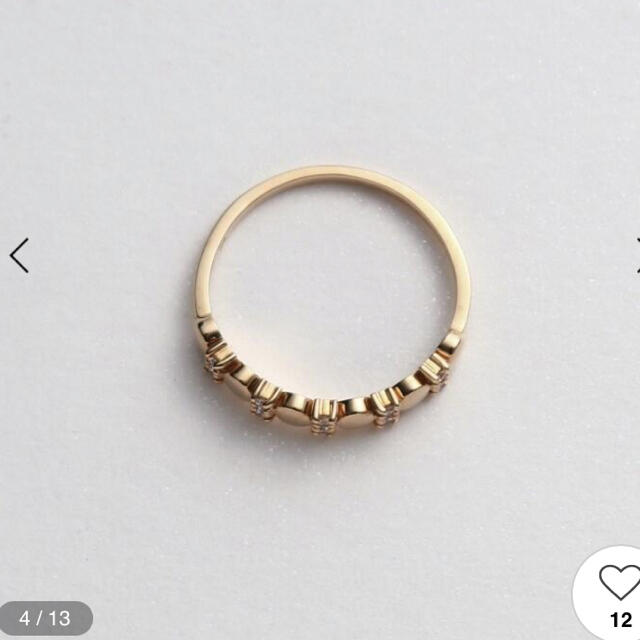 COCOSHNIK(ココシュニック)のsilver様専用ココシュニックk10リング 14号 レディースのアクセサリー(リング(指輪))の商品写真