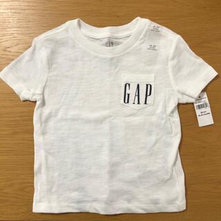 babyGAP - 90cm Tシャツ キッズ 白 GAP 半袖 タグ付新品 バックプリント