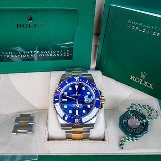 ROLEX - 【2021年印】ロレックス サブマリーナ 126613LB 青サブ 未使用品