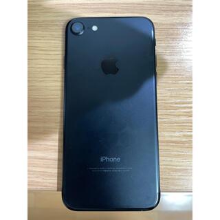 アップル(Apple)のiPhone7 Black ブラック 128GB SIMフリー(スマートフォン本体)