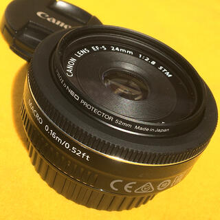 Canon - Canon 単焦点 パンケーキ EF-S 24mm f2.8 STM 極美品