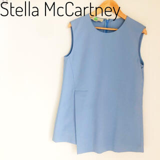 Stella McCartney - STELLA McCARTNEY ステラマッカートニー トップス ブルー