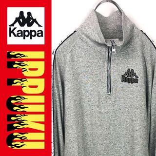 カッパ(Kappa)の90年代 90s カッパ ハーフジップTシャツ ロンT カットソー 長袖(ジャージ)
