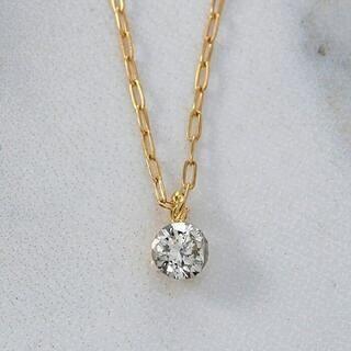 agete - agete K18 ダイヤモンド ネックレス 0.1ct ¥51,840