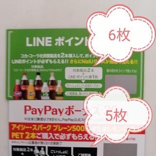 .コカ・コーラLINEポイント アイシーキャンペーンpaypayボーナス(その他)