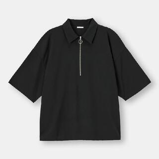 ジーユー(GU)のGUハーフジッププルオーバーシャツ(シャツ)