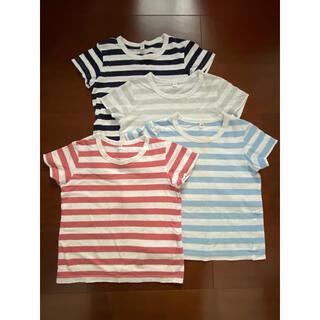 ムジルシリョウヒン(MUJI (無印良品))の無印良品 Tシャツ 100サイズ 4枚セット(Tシャツ/カットソー)