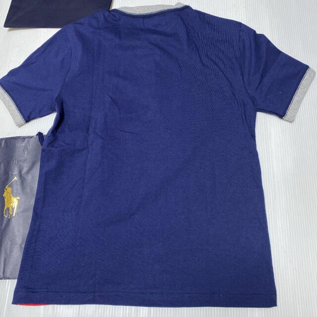 Ralph Lauren(ラルフローレン)のラルフローレン 150 Tシャツ 新品 ♡ ビームス GAP bebe ザラ 好 キッズ/ベビー/マタニティのキッズ服男の子用(90cm~)(Tシャツ/カットソー)の商品写真