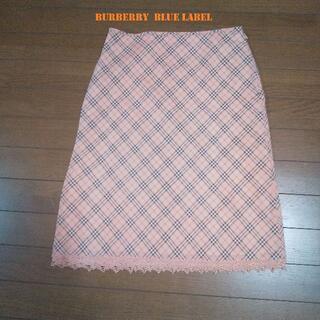 BURBERRY BLUE LABEL - 日曜セール! バーバリーブルーレーベル  スカート サイズ38 M   美品!