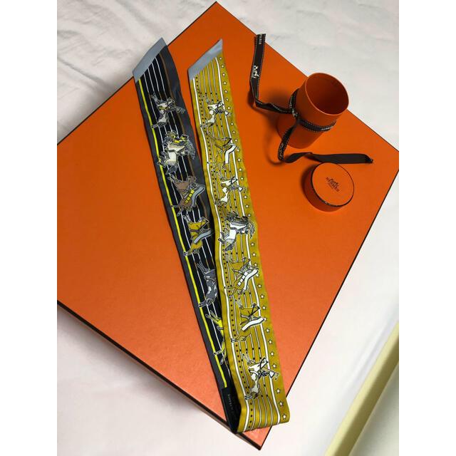 Hermes(エルメス)のHERMESツイリー 超美品 レディースのファッション小物(バンダナ/スカーフ)の商品写真