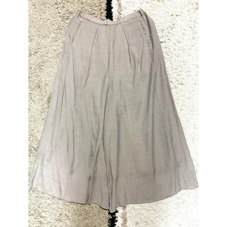 LEPSIM - ★美品★ LEPSIM  スカーチョ ガウチョパンツ グレージュ フリーサイズ