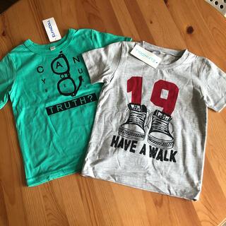 ニシマツヤ(西松屋)の新品☆西松屋 オシャレ Tシャツ 95 100 男の子 メガネ 半袖(Tシャツ/カットソー)
