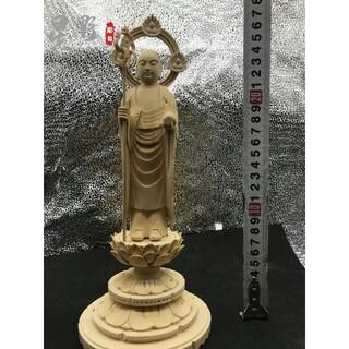 極上品  地蔵王菩薩  供養品  仏壇仏像  木彫仏像 仏教工芸品  精密細工(彫刻/オブジェ)