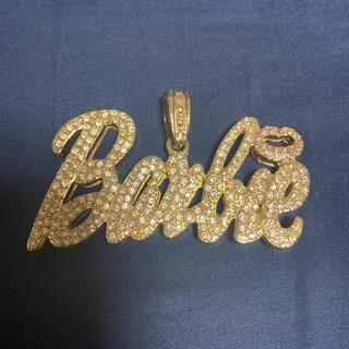 バービー(Barbie)のBarbie ラインストーン ネックレストップ(ネックレス)