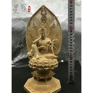極上品  如意輪観音  仏壇仏像  供養品  木彫仏像 祈る厄除 精密細工(彫刻/オブジェ)