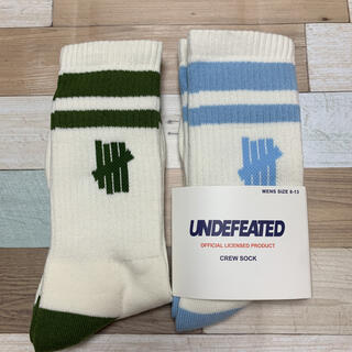 UNDEFEATED - アンディフィーテッド 靴下 undefeated