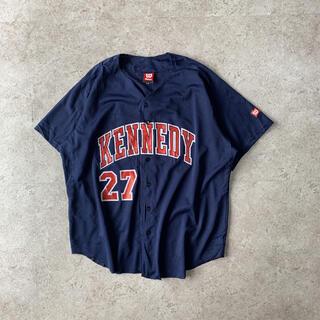 """ウィルソン(wilson)のWilson """"KENNEDY"""" 27番 ベースボールシャツ グッドプリント(ウェア)"""