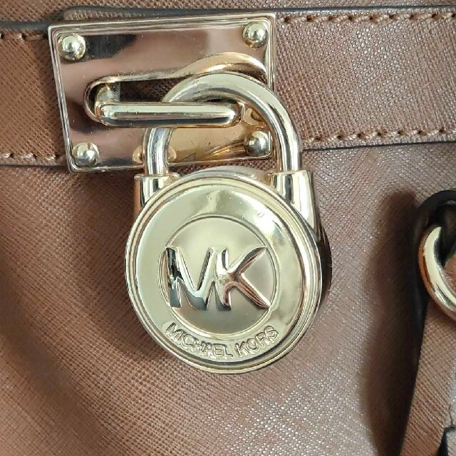 Michael Kors(マイケルコース)のマイケルコース ハンド&ショルダーバッグ 茶 レディースのバッグ(ショルダーバッグ)の商品写真