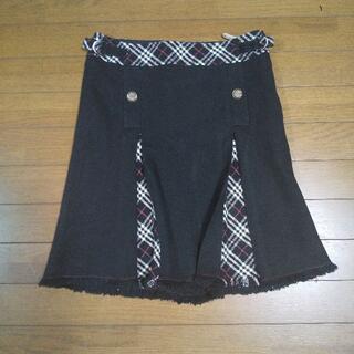 バーバリーブルーレーベル(BURBERRY BLUE LABEL)のバーバリーブルーレーベル スカート  サイズ36 S(ミニスカート)