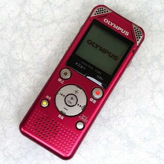 OLYMPUS - OLYMPUS ICレコーダー VoiceTrek V-802 レッド