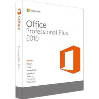 Microsoft - Microsoft Office Professional Plus 2016