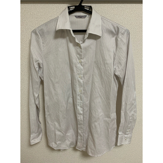 アオキ(AOKI)の【美品】AOKI ワイシャツ レディース(シャツ/ブラウス(長袖/七分))