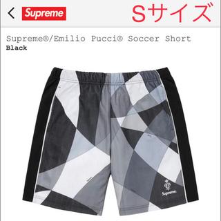 シュプリーム(Supreme)のSupreme®/Emilio Pucci® Soccer Short S 黒(ショートパンツ)
