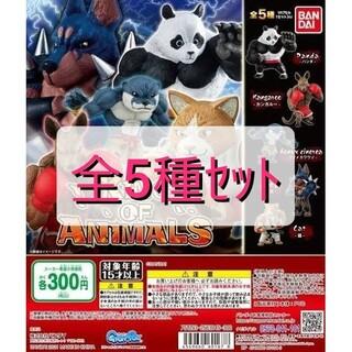 BANDAI - 【新品未開封】KING OF ANIMALS 全5種セット