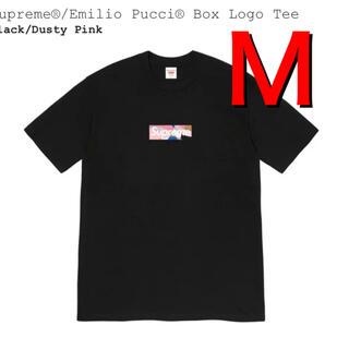 シュプリーム(Supreme)のsupreme Emilio Pucci boxlogo Tee M(Tシャツ/カットソー(半袖/袖なし))