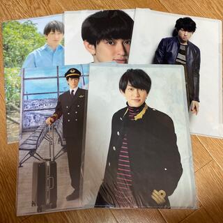 カンジャニエイト(関ジャニ∞)の横山裕 ファイル5枚セット(アイドルグッズ)