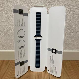 アップルウォッチ(Apple Watch)のApple Watch レザーバンド 純正(レザーベルト)