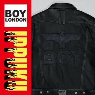 ボーイロンドン(Boy London)のhikki様専用 90年代 ボーイロンドン レザージャケット アメリカ製(レザージャケット)