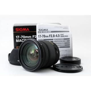 シグマ(SIGMA)のSigma DC 17-70mm F/2.8-4.5 AF ペンタックス用(レンズ(ズーム))