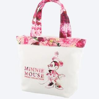 Disney - イマジニング ミニー トートバッグ ピンク