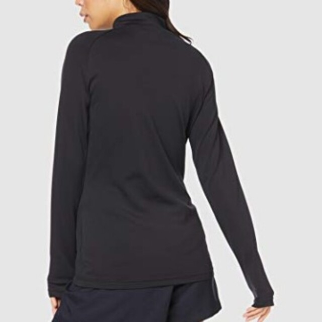 DESCENTE(デサント)の新品 M DESCENTE golf sleeve shirt ハイネック 黒 スポーツ/アウトドアのゴルフ(ウエア)の商品写真