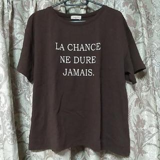 サマンサモスモス(SM2)のサマンサモスモス♥ロゴTシャツ(Tシャツ(半袖/袖なし))