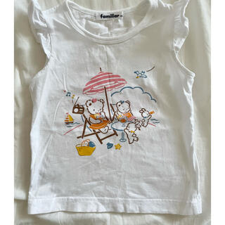 familiar - ✴︎美品✴︎ファミリア ベビー 半袖Tシャツ 90