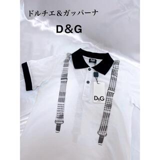 ドルチェアンドガッバーナ(DOLCE&GABBANA)の新品タグ付き!ドルチエ子供服 ドルチエ&ガッパーナ(Tシャツ/カットソー)