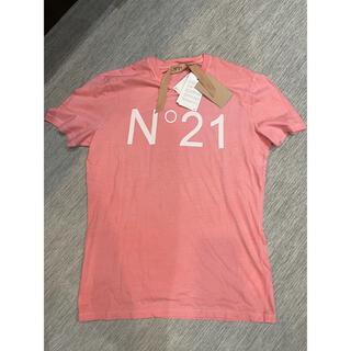 ヌメロヴェントゥーノ(N°21)のN°21  40サイズ(Tシャツ(半袖/袖なし))