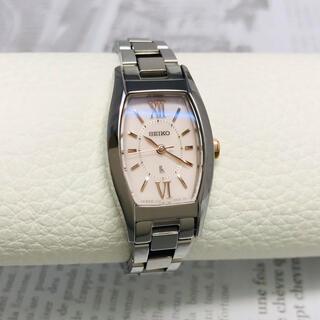 SEIKO - 美品 セイコー ルキア ソーラー レディース 腕時計 動作品 磨き仕上げ