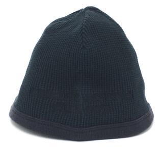 クロムハーツ(Chrome Hearts)のクロムハーツ サーマル V3 ビーニーキャップV3 ニット帽 アパレル ブラック(ニット帽/ビーニー)