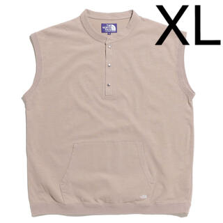 ザノースフェイス(THE NORTH FACE)のノースフェイス パープルレーベル ハイバルキー ノースリーブ T 新品 XL(Tシャツ/カットソー(半袖/袖なし))