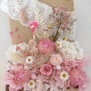 花材22 プリザーブドフラワー ローズ ドライフラワー(各種パーツ)