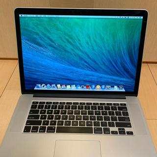マック(Mac (Apple))のMacbook Pro 15-inch Late 2013(ノートPC)