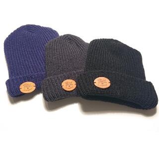 IL BISONTE - ILBISONTEビゾンテニット帽3点セット