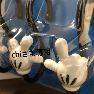 ディズニー(Disney)のミッキーS字フック3個入り(押し入れ収納/ハンガー)